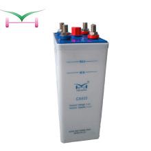48 v 110 v 600ah batería de nicd de baja tasa de descarga