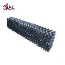 Éliminateur de brume de tour de refroidissement industriel de PVC de taille de 65mm