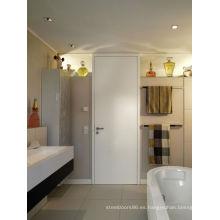 2015 Hotsale moderno nuevo diseño blanco pintura puerta de madera para el dormitorio