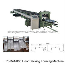 good decking floor roll forming machine