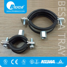 Supplier Hardware With Rubber Industrial Pipe Clamps Manufacture
