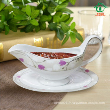 2015 New Style Oval Céramique pot de porcelaine