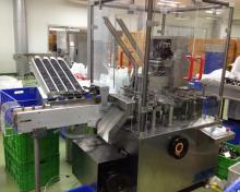 Condom Cartoning Machine for Single piece