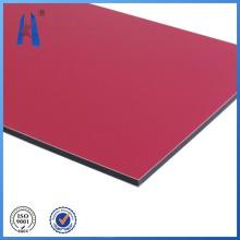 Painel composto de alumínio de certificado ISO para promoção