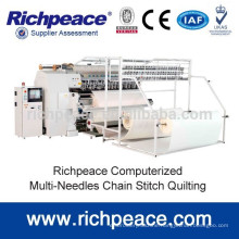 Computerized Multi-Needle Chian-stitch Mattress Cover Quilting Machine
