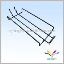 Venda quente de mobiliário chinês barato acessório de banheiro pendurado torre de parede montada em metal único piso banheiro cesta