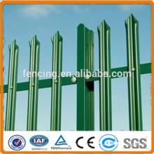 Barrière d'angle galvanisée à chaud galvanisée / clôture de palissade
