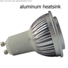 gu10 residential lighting 5w cob led dimmable warm white