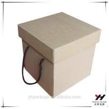 Zhejiang papier gaufrage personnalisé en gros boîtes kraft