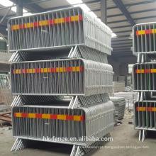 Tráfego de preço inferior de fábrica Barreiras de aço galvanizado cerca de construção temporária