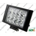 LED Work Light Flood Beam, 4x4 12V Retangle LED Tractor Work Lamp (NSL-3612C-36W)