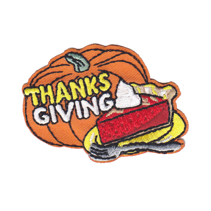 Thanksgivpumpkin Ing Iron On Patch