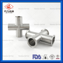 Raccords de tuyauterie en acier inoxydable haute pression T égal