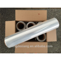 pvc super clear food grade plastic film roll pet metalized double sided adhesive mirror plastic cup sealing film