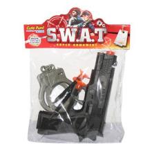 En71 Genehmigung Kunststoff Polizei Set Spielzeug Pistole Spielzeugpistole für Jungen (10217965)