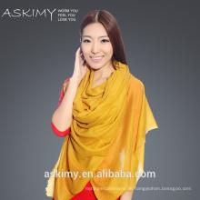2015 Neuer Art und Weise orange Schal