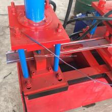 rolling shutter step steel door roll forming machine