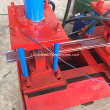rolling shutter step steel door roll membentuk mesin