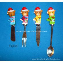Разбрасыватель с ручкой для переноски для рождественских украшений