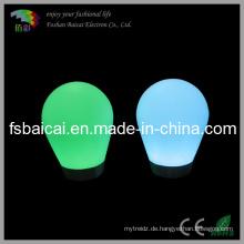 Wiederaufladbare Li-Batterie Glühende LED-Stehleuchte