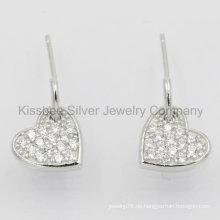 Fine Jewelry, Silber Schmuck, Silber Schmuck Ohrringe (KE3072)