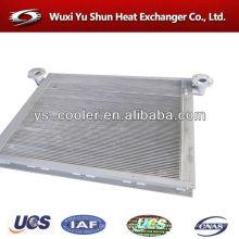 Carregador de rodas tanque de água com radiador para payloader / trocador de calor em aleta de alumínio