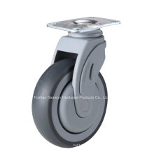 Swivel Plastic Medical TPR Caster