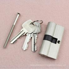 Vente populaire taille régulière serrure à cylindre avec haute sécurité
