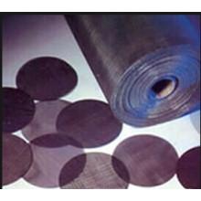 Manufactory del filtro del alambre negro de acero suave