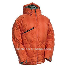 Full orange water-proof ski wear for men