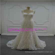 Unipue e Fashion Lace Vestido De Noiva
