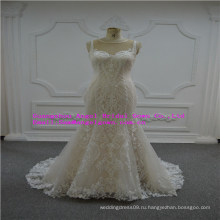 Unipue и мода кружева свадебное платье