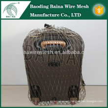 2015 Alibaba china supply stainless steel cable mesh bag hc mesh rope bag