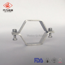 sanitary ss304 hexagon pipe holder