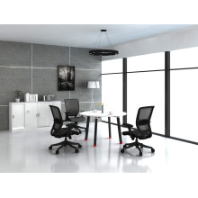 Elegant Modern Metal Frame Conference Meeting Table (HF-OFY006)