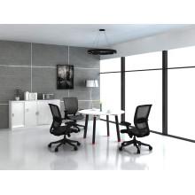 Mesa de reunião elegante e moderna de mesa de metal metálico (HF-OFY006)