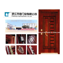 Tuikish Style Steel Wooden Armored Door