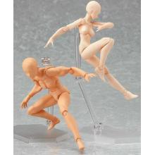 Haute qualité personnalisé PVC plastique Skeleton Skull DIY jouet éducatif