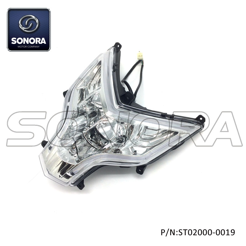 ST02000-0019 LONGJIA Spare part LJ50QT-3J headlight (4)