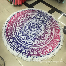 Summer Large Fashion Circle Beach Towel Round Beach Towels With Tassels Fringe