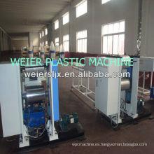 WEIER-400 wpc lijado cepillado máquina de relieve