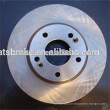 Auto peças sobressalentes sistema de freio disco de freio de carro coreano / rotor
