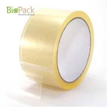 Компостируемая прозрачная упаковочная лента из клейкой пленки на заказ