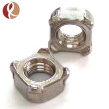 Fornecimento de fábrica profissional de titânio preço de nozes de titânio