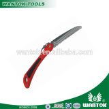 Folding saw prunging saw with plastic handle