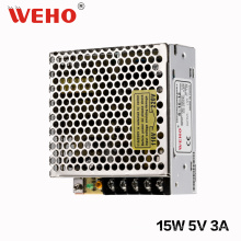 Fornecedor China WEHO 15W 5V DC Power Supply