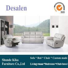 Teatro casero reclinable sofá, sofá de cuero moderno del recliner (GA08)