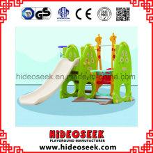Corrediça plástica interna do centro de guarda para a criança com aro da cesta