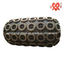 Guardabarros neumático de goma para muelle