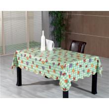 LfGB não tecido de apoio PVC impresso toalha de mesa Oko-Tex 100 China fábrica